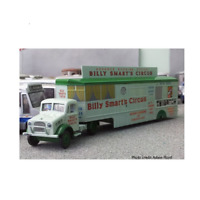 Atlas HU03 Bedford OX Truck Booking Trailer Billy Smarts Circus 1:76 Scale