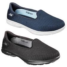 Skechers Go Step Elated Shoes Womens Memory Foam Go Walk Goga Flats Trainers