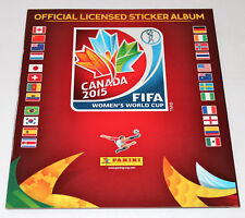 Panini WC WM WOMEN FRAUEN 2015 CANADA – LEERALBUM EMPTY ALBUM INT. EDITION