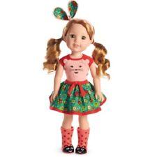 American Girl WILLA DOLL tee skirt headband boots DNJ70
