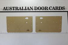 MAZDA 1200, 1300 Ute, Sedan, 4-door Wagon Door Cards. Blank Trim Panels.