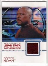 STAR TREK DEEP SPACE NINE QUOTABLE--Costume/Relic Card #C10: Sisko as Dr Noah^