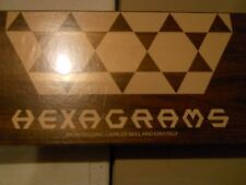 Hexagrams An Intriguing Game of Skill and Strategy Like Chess BOARD GAME NEW AZ