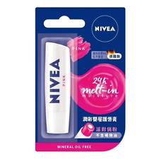 [NIVEA] PINK 24h Melt-in Moisture Tinted Lip Balm  4.8g GERMANY NEW