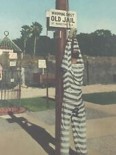 Vintage Convict Whipping Post Old Jail St Augustine FL Postcard Post Card 25464