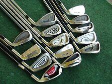 Mens RH Golf Club Lot TaylorMade Nike Cleveland Mizuno Adams Callaway King Cobra