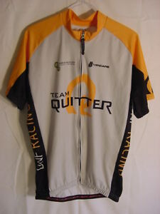 Hincapie Team Quitter DNF Racing Cycling Jersey - Mens Size 2XL