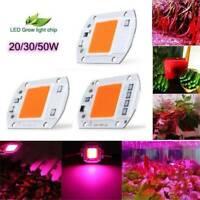 100W Full Spectrum LED COB Chip Grow Light Plant Growing Lamp 70W 110V 220V CN