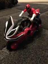 Power Rangers Samurai disco ciclo con la figura