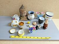 Mixed Lot of Various Small Ceramic Porcelain Table Article Tea Cup Flower