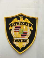 RARE! HAWAII FIVE-O POLICE  Shoulder Patch
