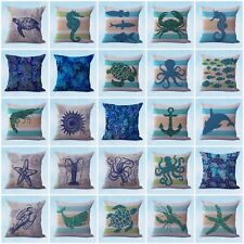 wholesale 50 cushion covers sailing nautical decorative pillow