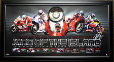 Casey Stoner King of the Island MOTO GP Limited Edition 1000 Print Framed
