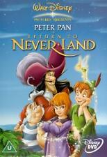 PETER PAN PART 2 DVD Return to Neverland Walt Disney Movie Film Cartoon Sealed