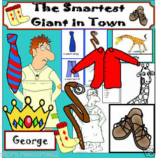 THE SMARTEST GIANT IN TOWN STORY TEACHING RESOURCE For SACK RESOURCES KS1 EYFS