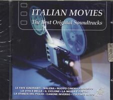 Italian Movies -  The best original soundtracks - PIOVANI MORRICONE CD 2002 NEW