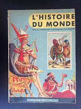 Album chromos Histoire du monde Funcken Timbre Tintin Complet
