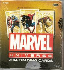 RITTENHOUSE MARVEL UNIVERSE 2014 FACTORY SEALED BOX 3307/7200 24 PKT inc Sketch