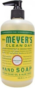 Clean Day Liquid Hand Soap by Mrs. Meyer's, 12.5 oz Honeysuckle