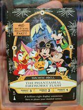 Disney 2019 Halloween Party The Phantasmal Fireworks Flash Sorcerers Card MNSSHP