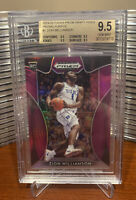 Zion Williamson Rc 2019-20 Panini Prizm DP Purple #1 BGS 9.5 (Quad 9.5's)