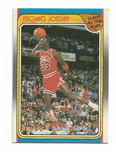 MICHAEL JORDAN 1988/1989 FLEER ALL STAR TEAM #120 $150.00 CHICAGO BULLS HOT