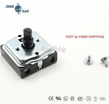 Objective 4-position 3-speed Fan Selector Rotary Switch Governor With Knob 13amp 120v-250v Home Appliances