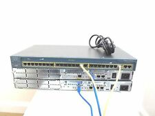 CISCO CCNA CCNP LAB X 2 - 2620XM routers. x 1 - 2950-24 laboratorio Interruptor.