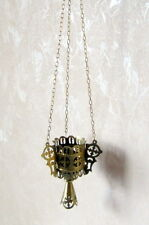 19th century ANTIQUE RUSSIAN ICON LAMP - LAMPADA.