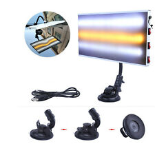 New PDR Tools Aluminum Alloy 3 LED Light Board Paintless Dent Repair Removal Kit