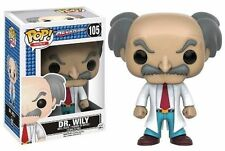 Funko Pop Games Mega Man Dr. Wily Vinyl Action Figure 105 Collectible Toy 10349