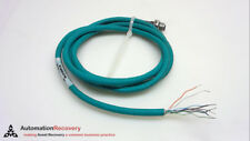 Turck Fksd 841-2M 8 Pole Female Straight Ethernet Cable 2 Meters #241962
