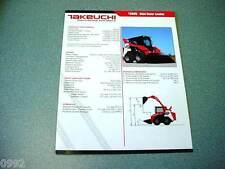 Takeuchi TS60V Skid Steer Loader Brochure