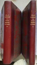 Jean Barois (Roger Martin du Gard) en 2 tomes