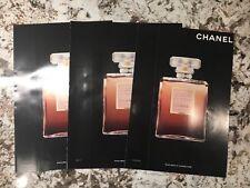 Lot of (3) CHANEL 'Coco Mademoiselle' magazine ad peelie perfume samples