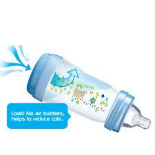 MAM Easy Start Anti-Colic Baby Feeding Bottle Pink 160ml 3Pk
