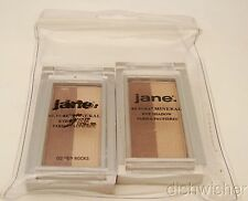Jane Be Pure Mineral Eye Shadow Duo 02 RED ROCKS Lot of 2 NEW, 1 SEALED