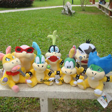7X Super Mario Bros 3 Koopalings Larry Iggy Lemmy Roy Ludwig Wendy Morton Plush
