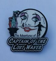 THE ADVENTURES OF CAPTAIN OF THE LOST WAVES PIN BADGE HIDDEN GEMS 2