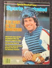 1983 April 4 SPORTS ILLUSTRATED Magazine VG+ 4.5 Gary Carter / Baseball Issue