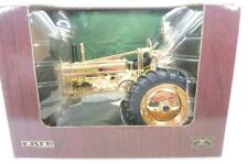 """Gold Ertl John Deere Model """"A"""" With Man Orig Box * Top 100 Toys of the Century"""