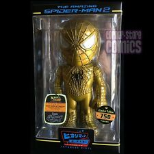 Funko SPIDER-MAN Hikari 24K Gold Japanese Vinyl Giant SOFUBI Figure ONLY 750!