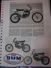 Clippings SWM 125 / 250cc (jaren 70 / 80 GER)