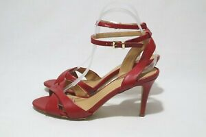VERALI Different Sizes 6, 7, 8, 9 & 10 Womens Red Open Toe X Top Sandals Heels