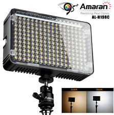 Aputure AL-H198C 3200K-5500K 198 LED Camera Video Light Lamp CRI95+ F Canon DSLR
