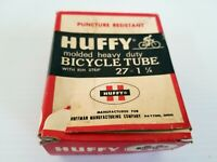 Vintage Huffy Bicycle Tube 27 X 1 !/4 inches in Original Box