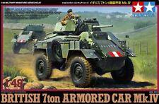Tamiya 1/48 British 7ton Armored Car Mk.IV # 32587