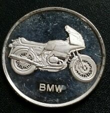 AMC Mint BMW Motorcycle United States 1 Troy oz .999 Fine Silver Round Coin