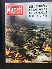 PARIS MATCH N°336 kourigba afrique du nord 1955