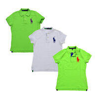 Polo Ralph Lauren Womens Big Pony Polo Shirt Short Sleeve Nwt New XS S